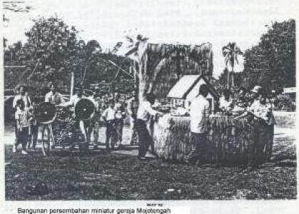 Upacara Undhuh-Undhuh di Mojowarno, Jombang